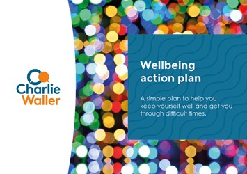 Wellbeing action plan cover