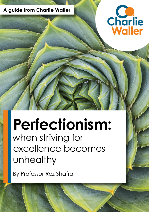 Perfectionism Front Cover