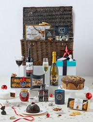 large food and drink hamper